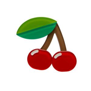 Erstwilder Brooch – Cherries