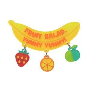 Erstwilder Brooch – Fruit Salad