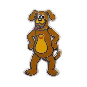 Erstwilder Enamel Pin – Wags the Dog