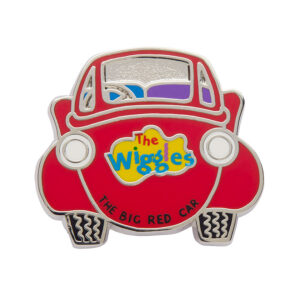 Erstwilder Enamel Pin – The Big Red Car