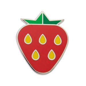 Erstwilder Enamel Pin – Strawberry