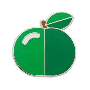 Erstwilder Enamel Pin – Apple