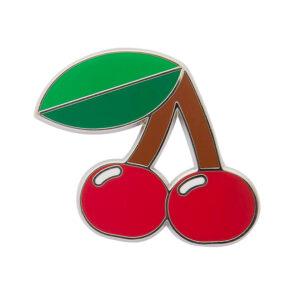 Erstwilder Enamel Pin – Cherries