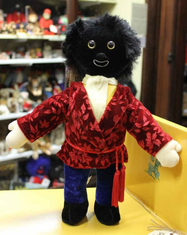 morpeth antique centre hunter valley golly golliwogg merrythought made in england united kingdom smartie