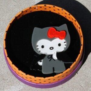 Erstwilder Brooch – Hello Kitty Count With Kitty