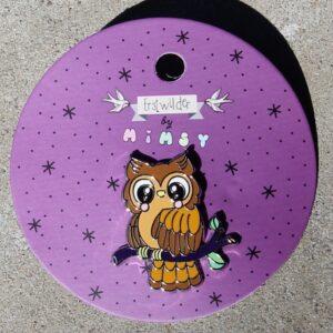 Erstwilder Enamel Pin – Owl Eyes on You