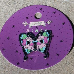 Erstwilder Enamel Pin – Fright of the Butterfly