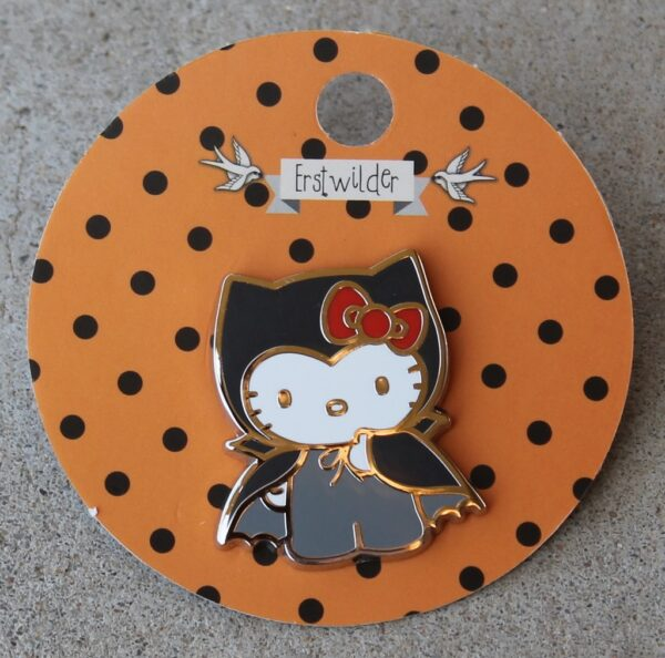 morpeth antique centre hunter valley erstwilder earrings brooch enamel pin necklace halloween hello kitty cute spooky count with retro collectable brooch