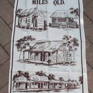 Teatowel – Miles, Queensland