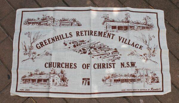 morpeth antique centre hunter valley green hills retirement village east maitland NSW tea towel road trip