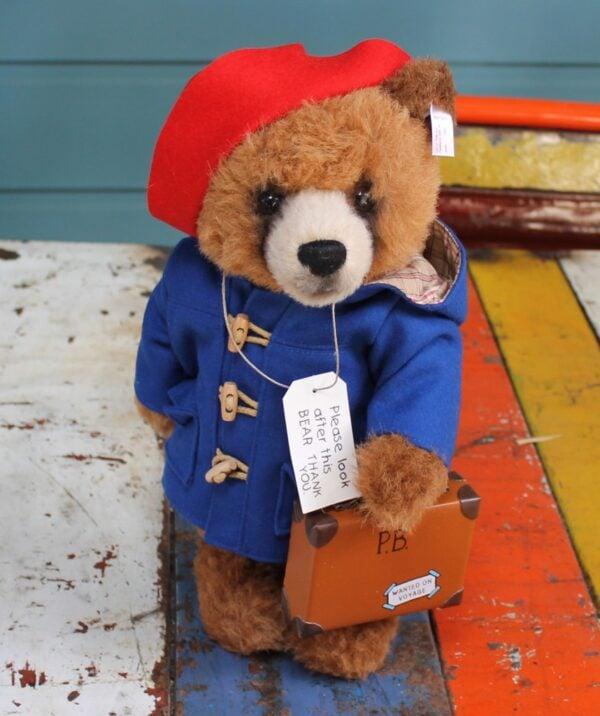 morpeth gift gallery hunter valley steiff germany EAN691041 teddy bear paddington 33cm standing