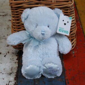 Gund My First Teddy – Blue 35cm
