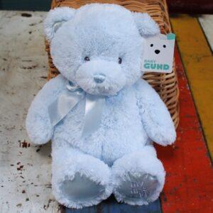 Gund My First Teddy – Blue 40cm