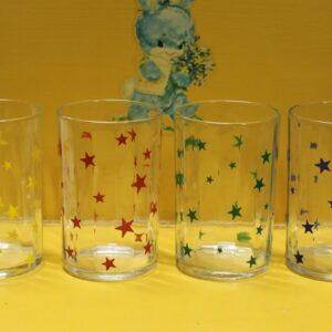 Swanky Swig Glasses Set of Four – Stars