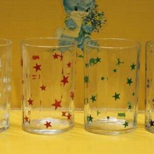 Swanky Swig Glass Set of Four – Stars