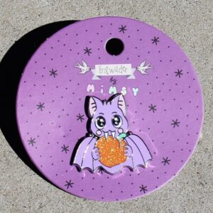 Erstwilder Enamel Pin – Fruit Bat Attack