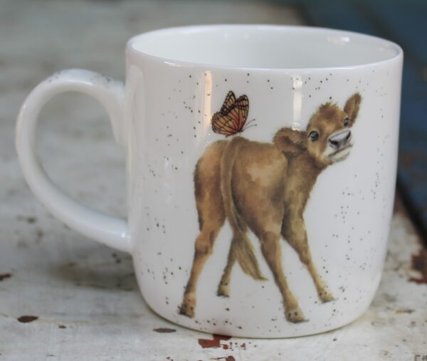 morpeth gift gallery wrendale royal worcester mug bessie brown cow jersey guernsey