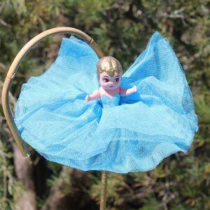 Kewpie Doll – Aqua Blue