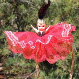 Kewpie Doll – Red with Black