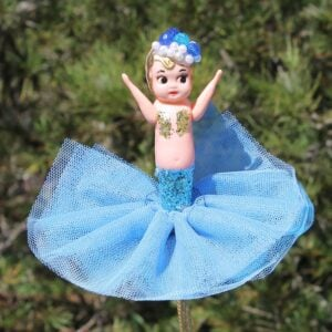 Kewpie Doll Mermaid – Blue