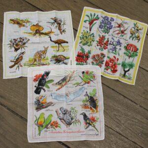 Hankie Trio – Australia Flora & Fauna