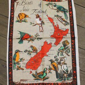 Teatowel – New Zealand (Birds)