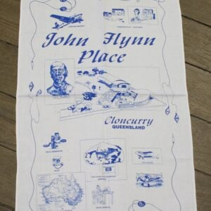 Teatowel – John Flynn Place, Cloncurry