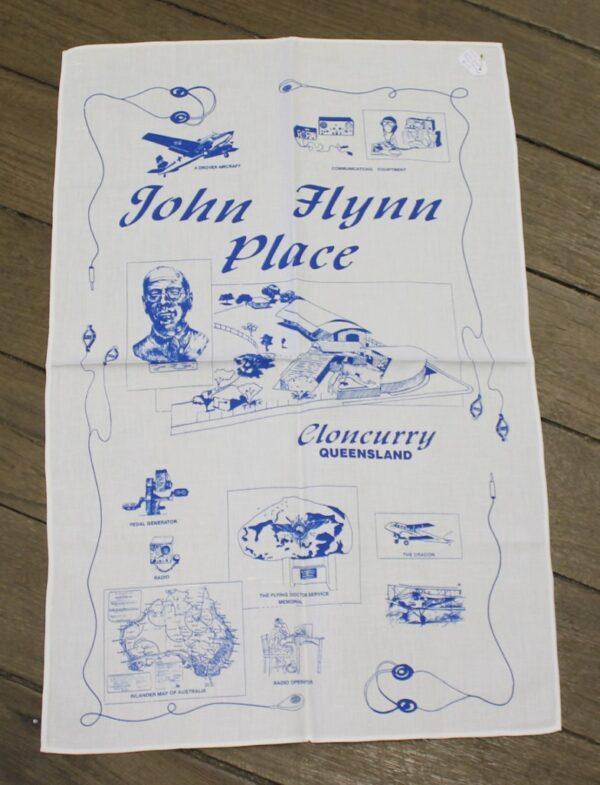 morpeth antique centre hunter valley road trip teatowel john flynn place cloncurry queensland australia