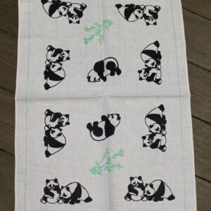Teatowel – Pandas