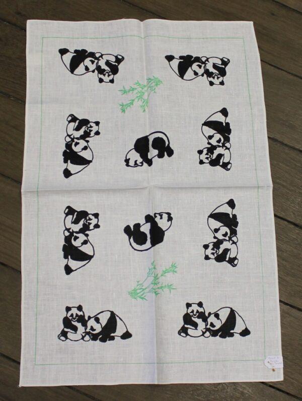 morpeth antique centre hunter valley road trip teatowel adelaide sydney zoo panda china black white australia