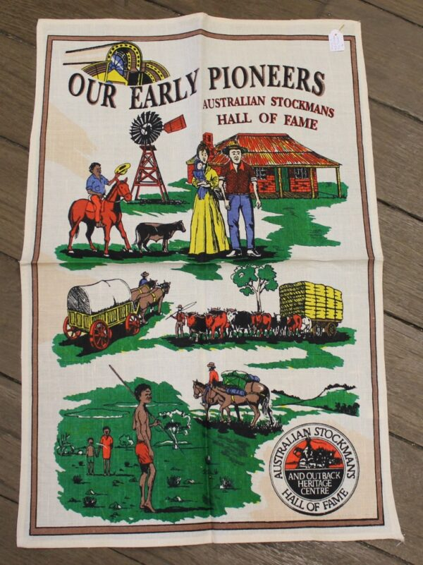 morpeth antique centre hunter valley road trip teatowel stockman hall of fame queensland longreach outback australia