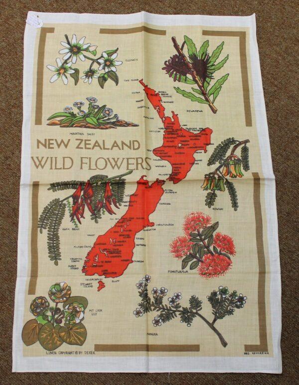 morpeth antique centre hunter valley road trip teatowel new zealand wild flowers australia