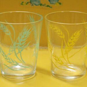 Swanky Swig Glass Set of Four – Wheat