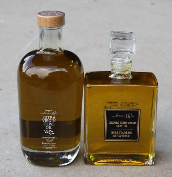 morpeth gift gallery gourmet foods taste of paris french greek extra virgin olive oil pelononnese provence chanel no 5 bottle shape elegance luxury