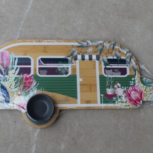 Serving Platter & Snack Bowl – Vintage Van