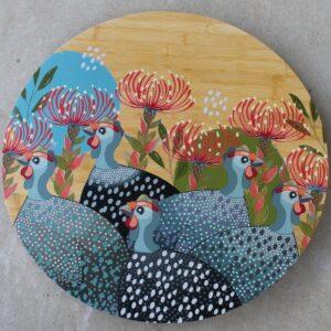 Lazy Susan – Guinea Fowl Grey