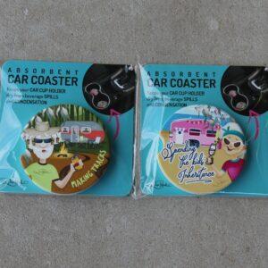 Car Coaster – Road Trip Duo