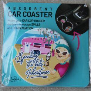 Car Coaster – Spending the Kids Inheritance