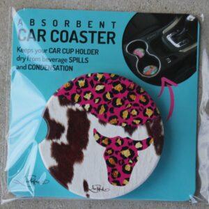 Car Coaster – Cow Girl