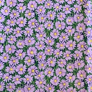 Morpeth Antiques Campbells Store Hunter Valley Fabric new pmauve flowers easter daisy
