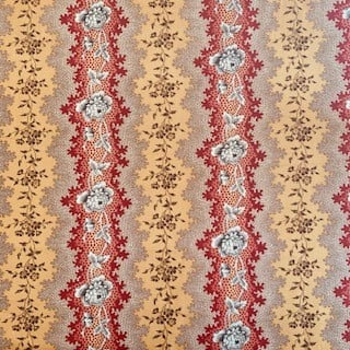 Morpeth Antiques Campbells Store Hunter Valley Fabric new mustard stripe