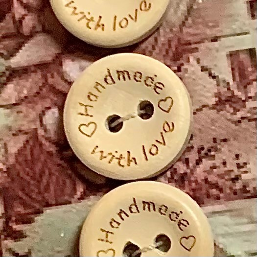 Morpeth antique centre buttons shop 4 hunter valley vintage Handmade with love wood