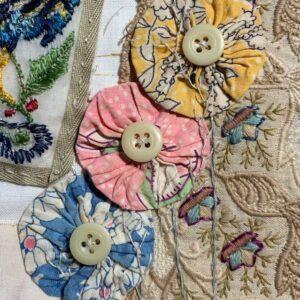 Antique Ivoroid Buttons x 6