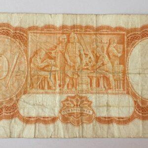 Australian Ten Shilling Banknote