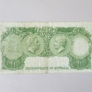 Australian One Pound Banknote 1953
