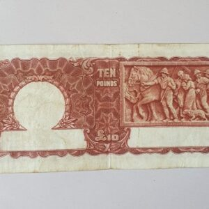 Australian Ten Pound Bank Note 1943