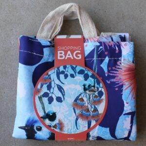 Re-Usable Shopping Bag – Blue Wren