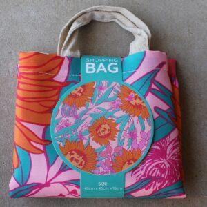Re-Usable Shopping Bag – Saffron Flowers