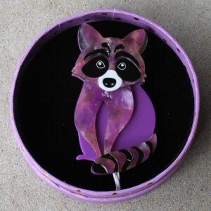 Erstwilder Brooch – Rocket's Riot (Raccoon)