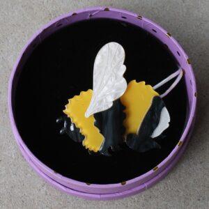 Erstwilder Brooch – Bumble Butt (Bee)